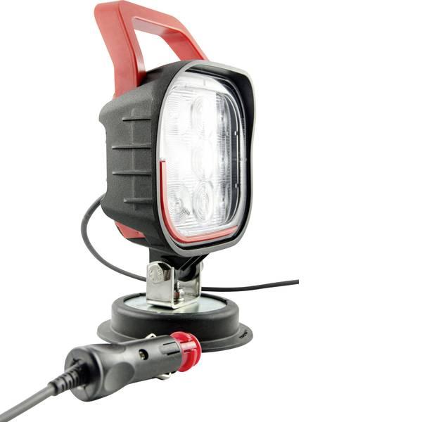 Fari e proiettori da lavoro - IVT Faro da lavoro 12 V, 24 V, 36 V 370028 Ampio fascio di illuminazione (L x A x P) 99 x 202 x 99 mm 1490 lm 6000 K -