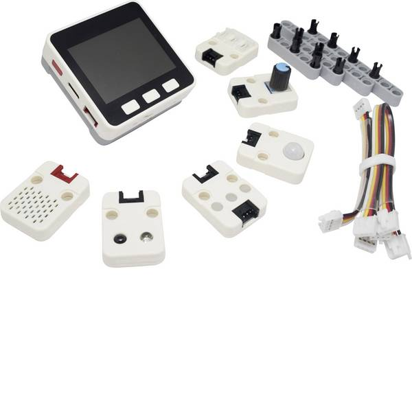 Kit e schede microcontroller MCU - Starter kit MAKERFACTORY M5Stack M5GO IoT   -