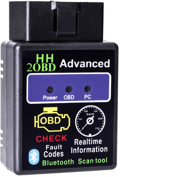 Tester, misuratori e scanner OBD - Adapter Universe Strumento diagnostico OBD II Bluetooth Diagnose Tool Scanner 7220 -