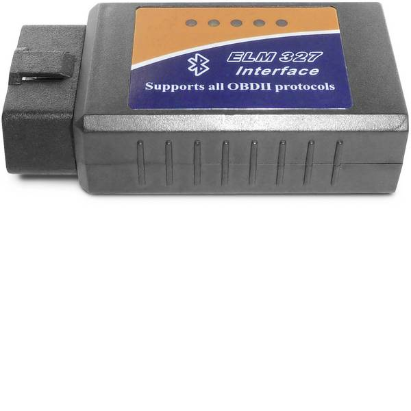 Tester, misuratori e scanner OBD - Adapter Universe Strumento diagnostico OBD II OBD2 E-327 Bluetooth CAN BUS Interface 7260 -
