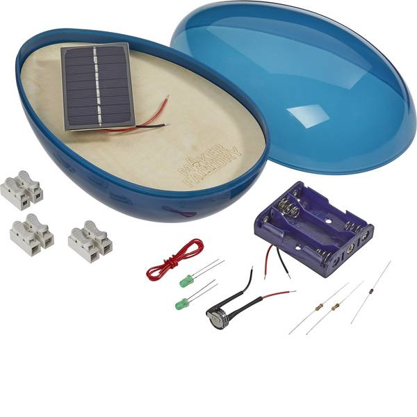 Kit esperimenti e pacchetti di apprendimento - Pacchetto di apprendimento MAKERFACTORY Solar Ei da 14 anni -