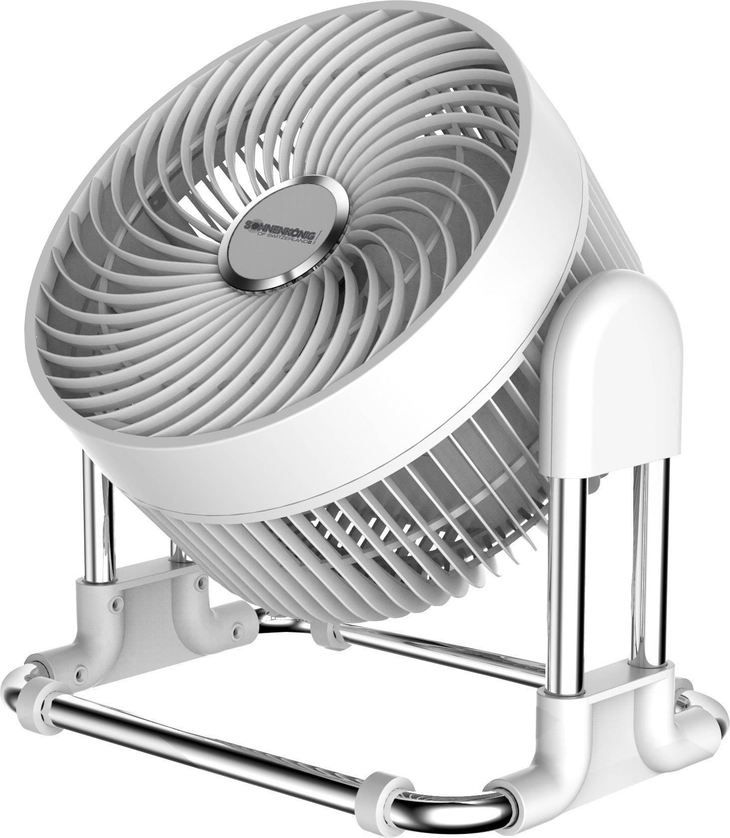 Sonnenkönig Vind Ventilatore da tavolo 45 W Bianco