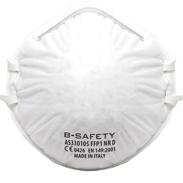 Maschere per polveri fini - B-SAFETY pure breath AS330105 Mascherina antipolvere senza valvola FFP1 10 pz. -