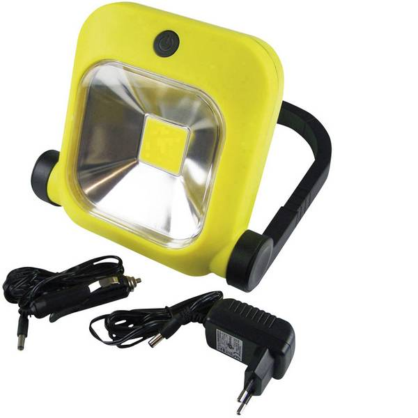 Torce con batterie ricaricabili - Berger & Schröter 31603 Lampada portatile a batteria Search20 Giallo LED 2 h -