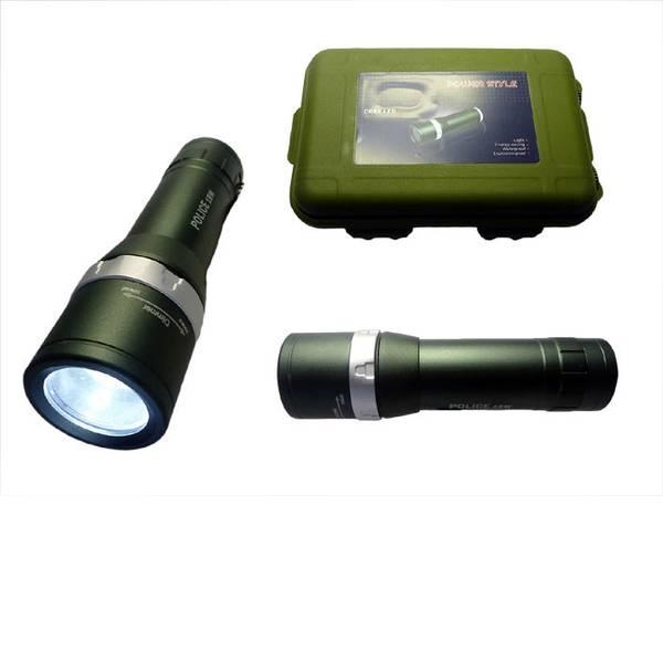 Torce tascabili - Berger & Schröter Police LED Torcia tascabile a batteria 180 lm 129 g -