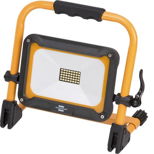 Torce con batterie ricaricabili - Brennenstuhl 1171250235 Lampada da lavoro Jaro 2000 MA Nero giallo LED 3 h -