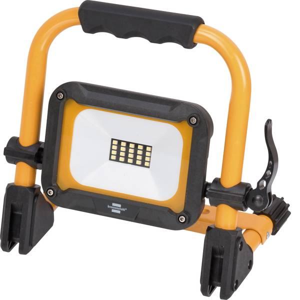 Torce con batterie ricaricabili - Brennenstuhl 1171250135 Lampada da lavoro Jaro 1000 MA Nero giallo LED 3 h -