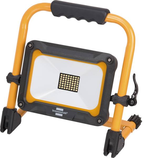 Torce con batterie ricaricabili - Brennenstuhl 1171250335 Lampada da lavoro Jaro 3000 MA Nero giallo LED 3 h -