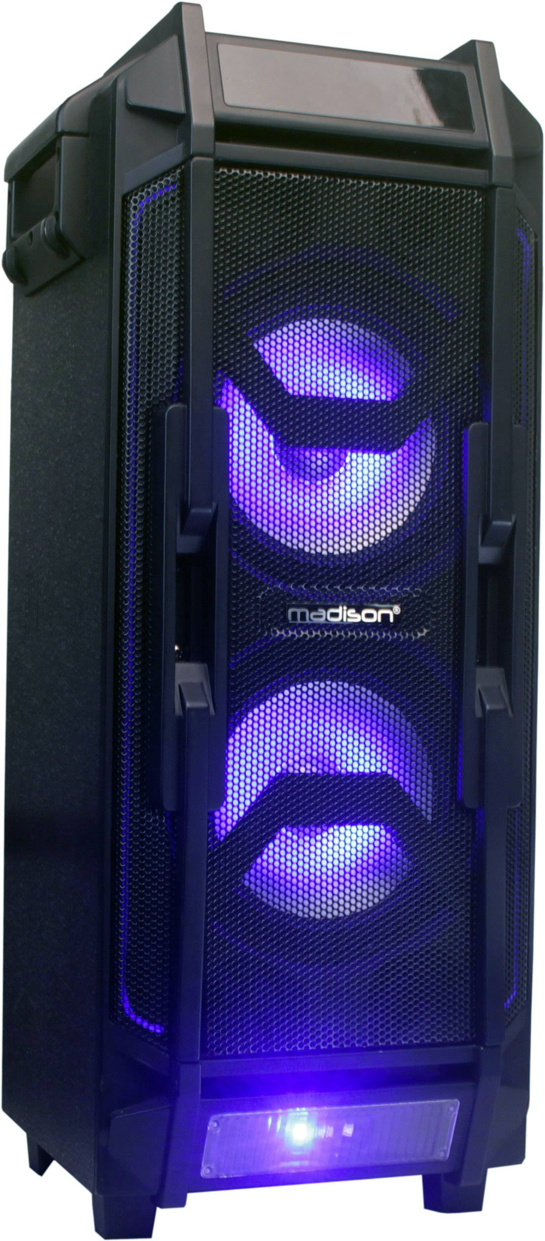 Madison MAD-HIGHPOWER28-500 Altoparlante per le feste 20 cm 8 pollici 500 W 1 pz.