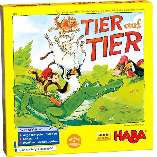 Giochi per bambini - Haba Tier auf Tier 004478 -