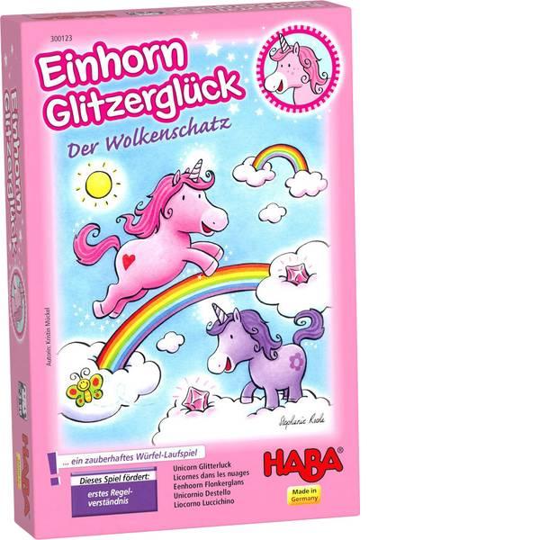 Giochi per bambini - Haba Einhorn Glitzerglück ? Der Wolkenschatz 300123 -