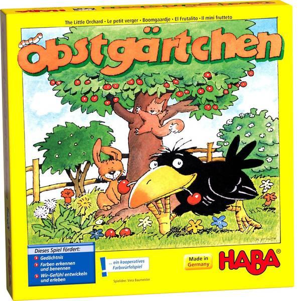 Giochi per bambini - Haba Obstgärtchen 004460 -