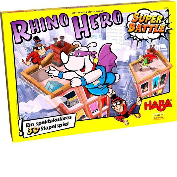Giochi da tasca e da viaggio - Haba Rhino Hero Super Battle 60127620 -