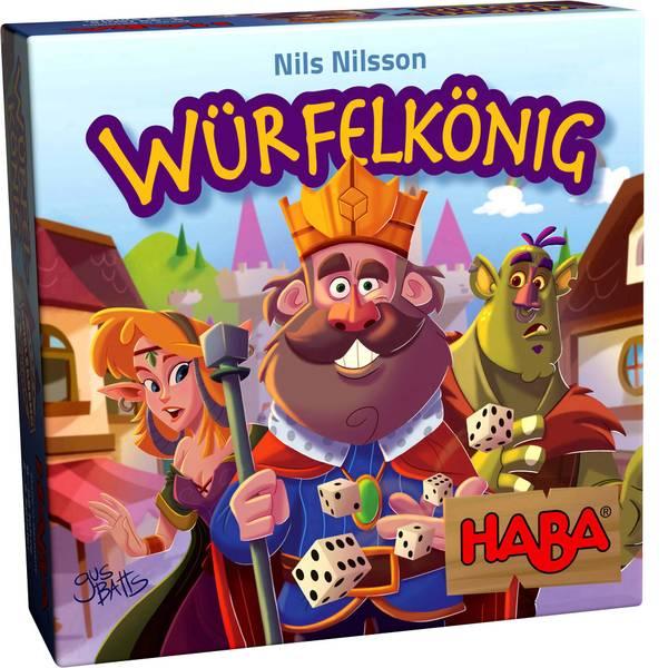 Giochi di società e per famiglie - Haba Würfelkönig 303485 -