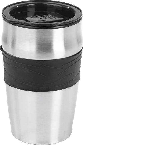 Macchine dal caffè con filtro - GourmetMaxx 05374 Macchina per il caffè Nero, Argento Capacità tazze=4 -