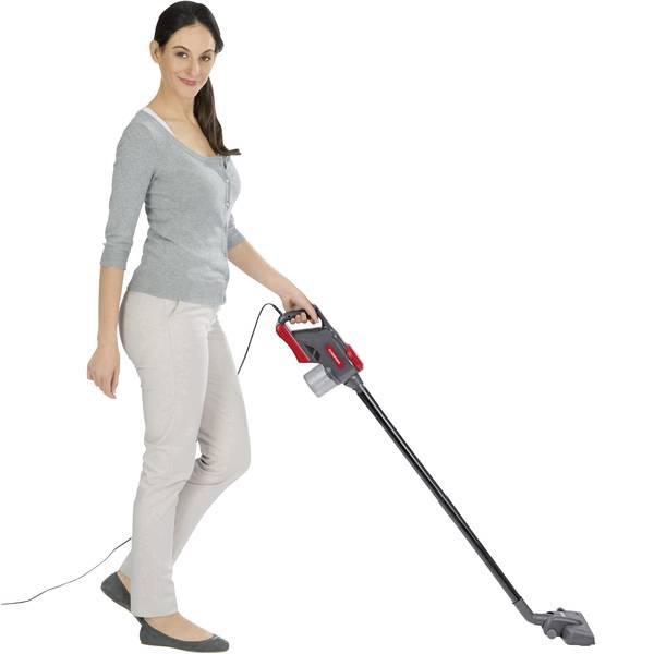 Aspirapolveri - CleanMaxx 02485 Aspirapolvere portatile 600 W Rosso scuro, Grigio -