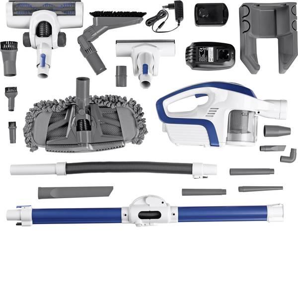 Aspirabriciole - CleanMaxx 09122 Aspirapolvere a ciclone a batteria 14.8 V Grigio, Blu -