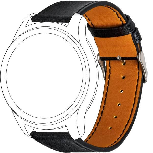 Accessori per fitness tracker - Cinturino di ricambio Topp für Garmin vivomove/vivoactive 3 Nero -