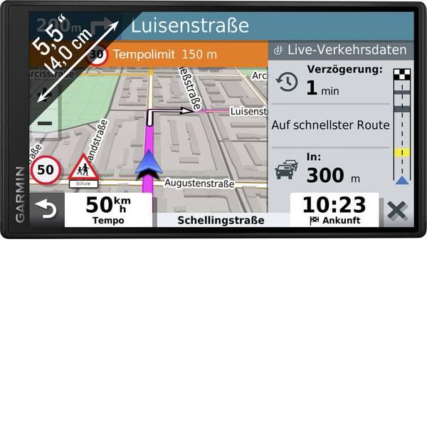 Navigatori satellitari - Navigatore satellitare DriveSmart 55 MT-D EU Garmin 13.9 cm 5.5 pollici Europa -