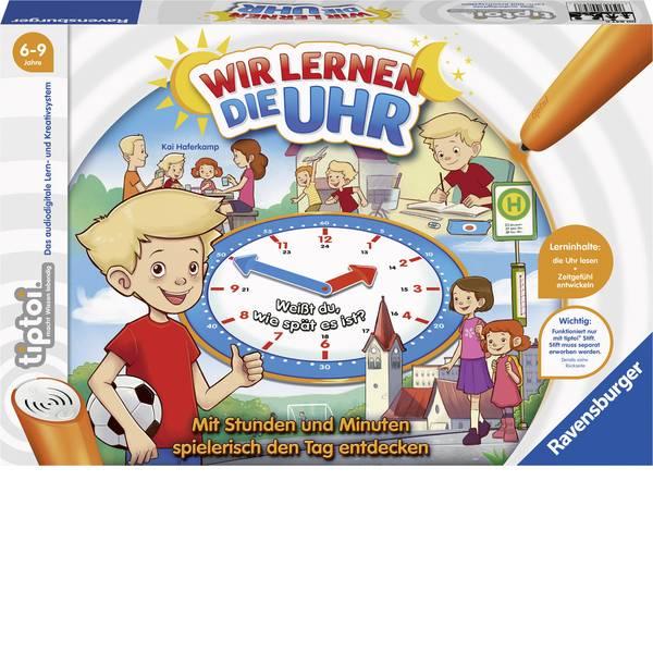 Giochi di società e per famiglie - Ravensburger tiptoi® Wir lernen die Uhr 00847 -