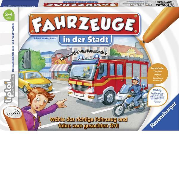 Giochi di società e per famiglie - Ravensburger tiptoi® Fahrzeuge in der Stadt 00848 -