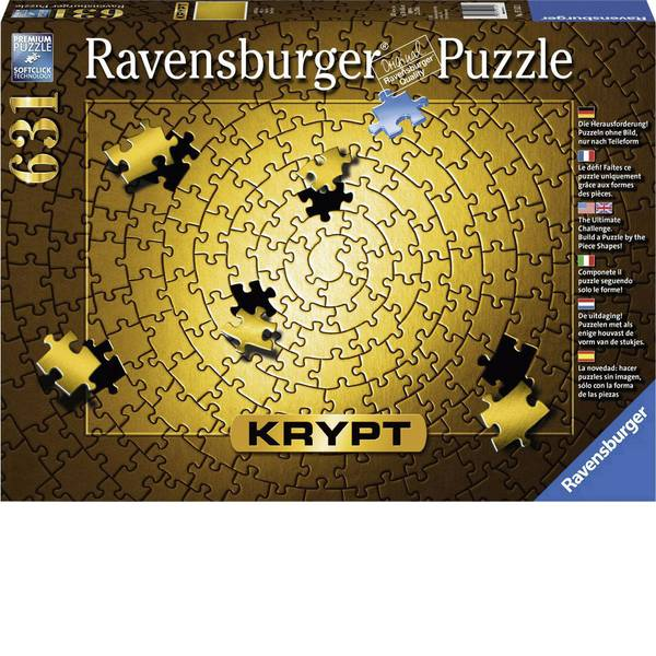 Puzzle - Ravensburger Krypt Gold Puzzle 15152 -