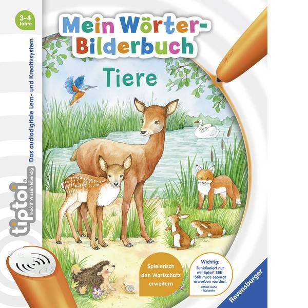Giochi di società e per famiglie - Ravensburger tiptoi® Mein Wörter-Bilderbuch Tiere 00008 -