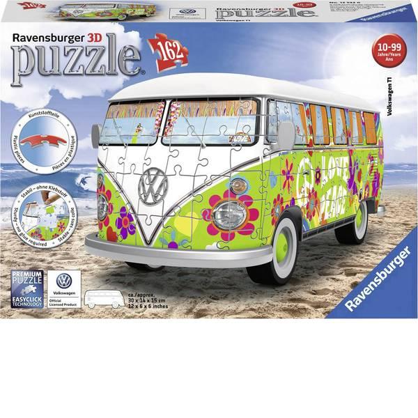Puzzle - Ravensburger Volkswagen T1 - Hippie Style 3D Puzzle 12532 -