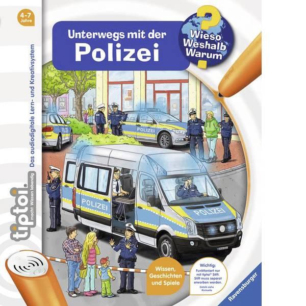 Giochi di società e per famiglie - Ravensburger tiptoi® Unterwegs mit der Polizei 00012 -