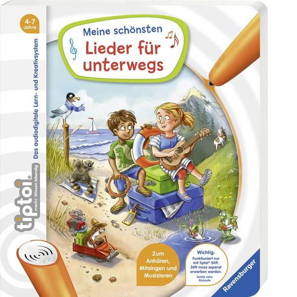 Giochi di società e per famiglie - Ravensburger tiptoi® Meine schönsten Lieder unterwegs 00011 -