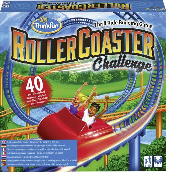 Giochi di società e per famiglie - Thinkfun Roller Coaster Challenge™ 76343 -