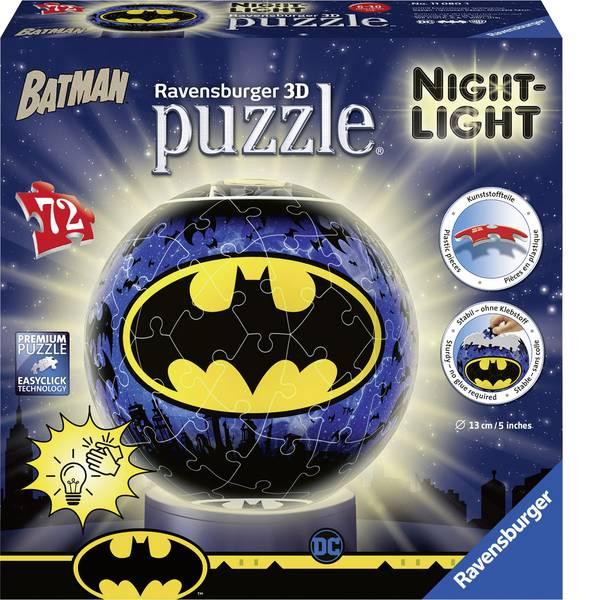 Puzzle - Ravensburger Nachtlicht - Batman 3D Puzzle-Ball 11080 -