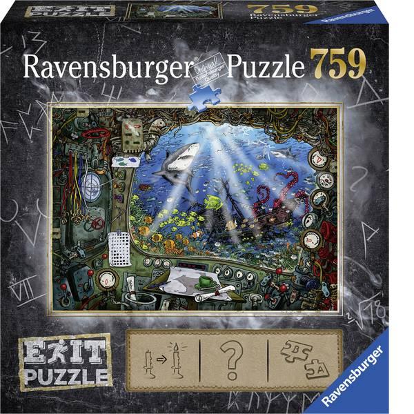 Puzzle - Ravensburger Exit 4: Im U-Boot 19953 -