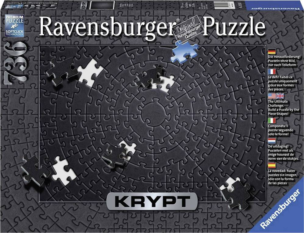 Ravensburger Krypt Black Puzzl