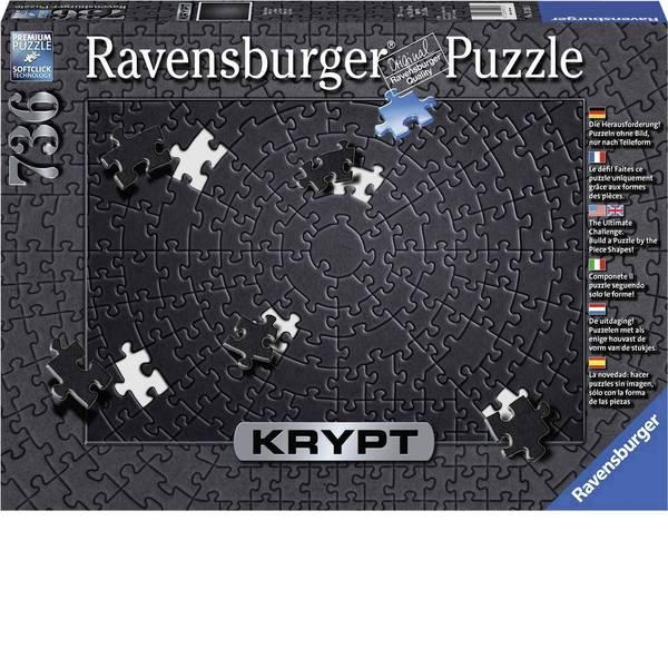 Puzzle - Ravensburger Krypt Black Puzzle 15260 -