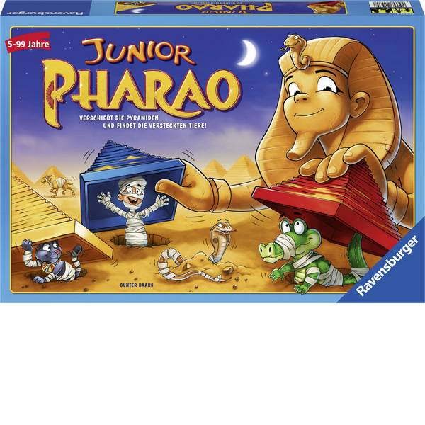 Giochi per bambini - Ravensburger Junior Pharao 21435 -