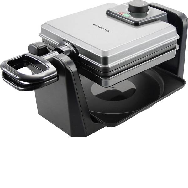 Macchine per cialde - EMERIO WM-110984 Macchina per cialde Argento, Nero -
