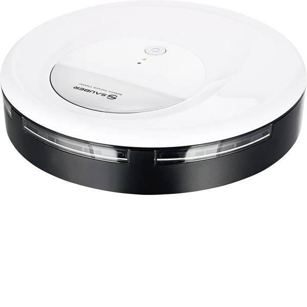 Robot aspirapolvere e lavapavimenti - SAUBER RVC-120592.1 Robot aspirapolvere Bianco, Nero -