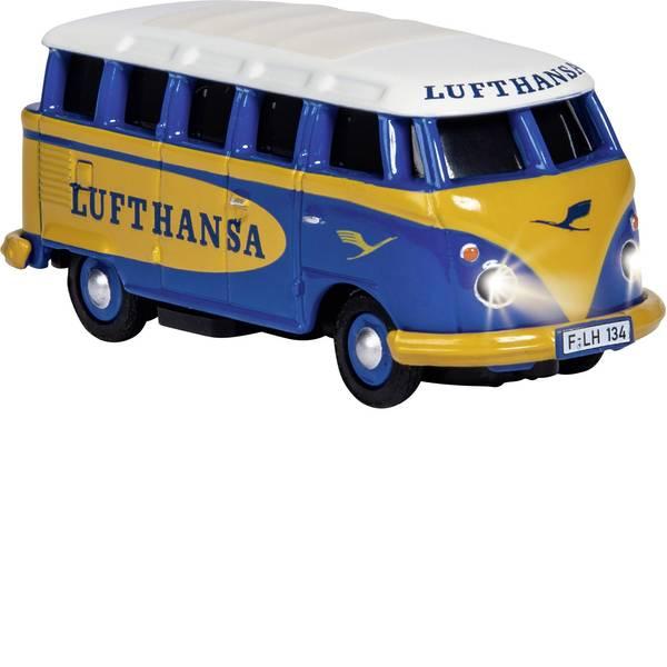 Mini auto radiocomandate elettriche - Carson Modellsport 500504134 VW Bus T1 Samba Lufthansa 1:87 Automodello Elettrica Auto stradale Trazione posteriore  -