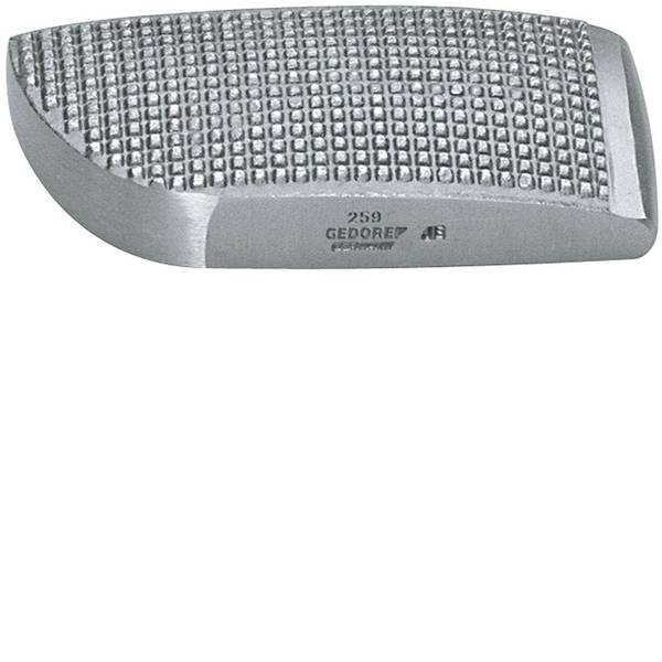 Utensili per carrozzeria - 259 - GEDORE - Tasso curvo zigrinato 125x55x25 mm Gedore 6457610 -