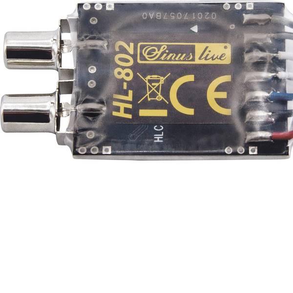 Accessori per installazioni HiFi per auto - Adattatore segnale alto-basso livello Sinuslive HL-802 -