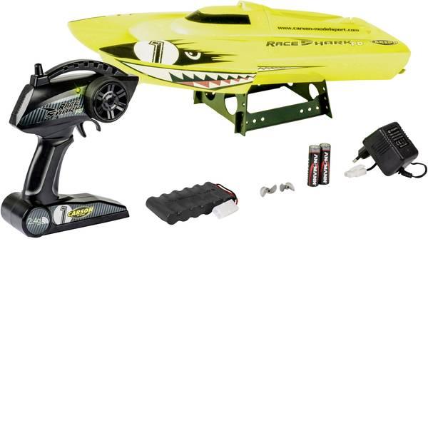 Barche telecomandate - Carson Modellsport Race Shark FD Motoscafo modello 100% RtR 395 mm -
