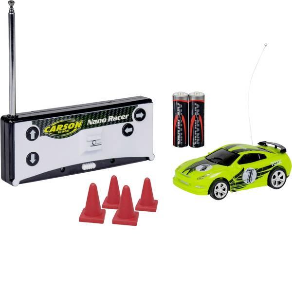 Auto telecomandate - Carson Modellsport 500404181 Nano Racer Toxic 1:60 Automodello per principianti Elettrica Auto stradale Trazione  -