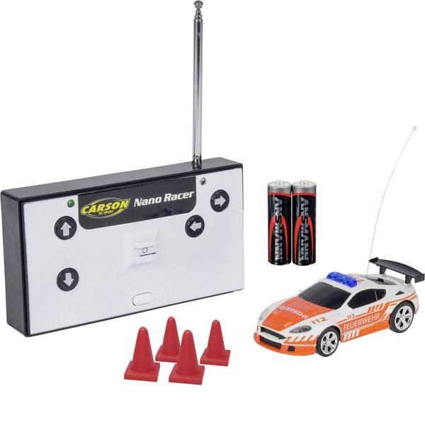 Auto telecomandate - Carson Modellsport 500404180 Nano Racer Feuerwehr 1:60 Automodello per principianti Elettrica Veicolo di emergenza  -