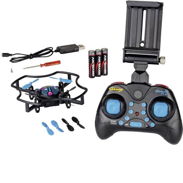 Quadricotteri e droni per principianti - Carson Modellsport Dragonfly FPV Quadricottero RtF Principianti, Per foto e riprese aeree -