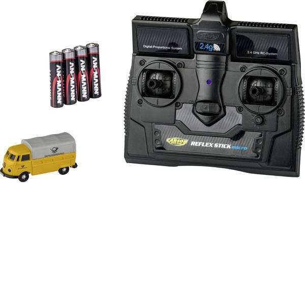 Mini auto radiocomandate elettriche - Carson Modellsport 500504123 VW Bus T1 Deutsche Post 1:87 Automodello Elettrica Auto stradale Trazione posteriore incl.  -