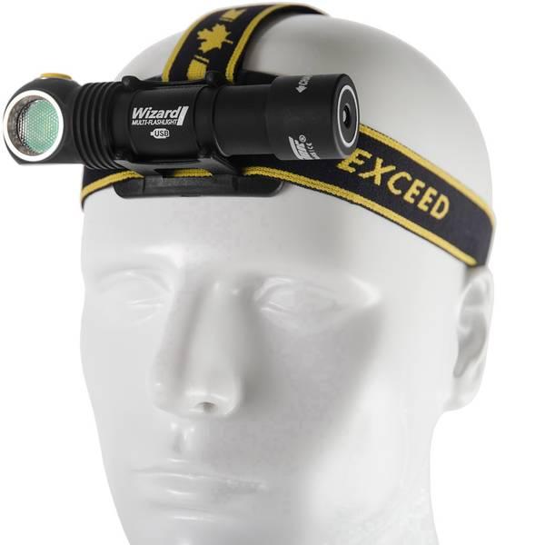 Lampade da testa - ArmyTek Wizard v3 LED Lampada frontale a batteria ricaricabile 1000 lm F05401SC -