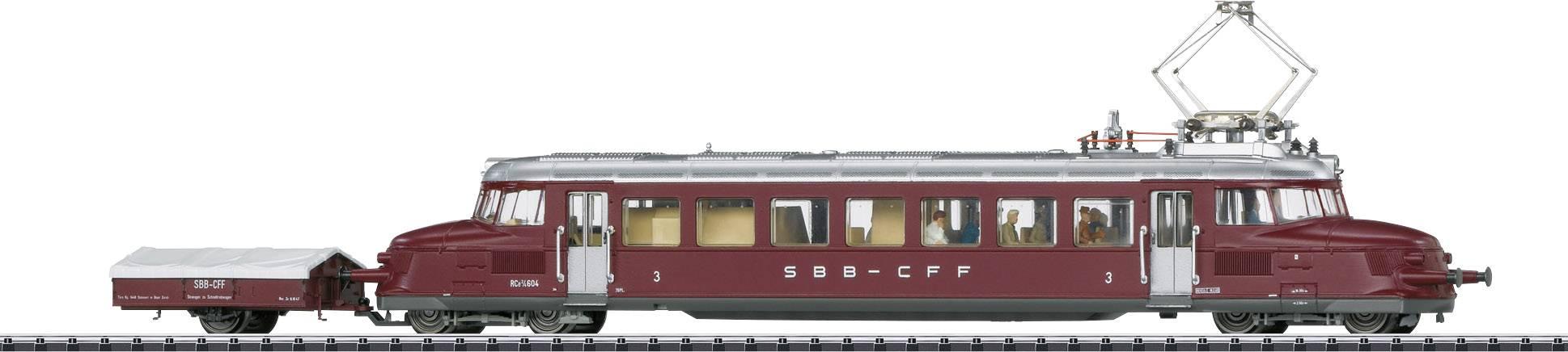 Trix h0 24258-02 alto bordo AUTO OM 21 della DB da Insider Set 24258 in puro Carbone Nuovo