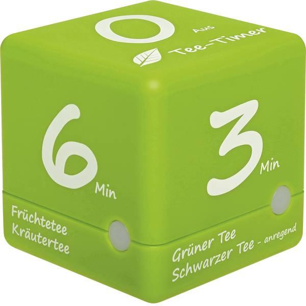 Timer - TFA Tee-Timer Cube Timer Verde digitale -