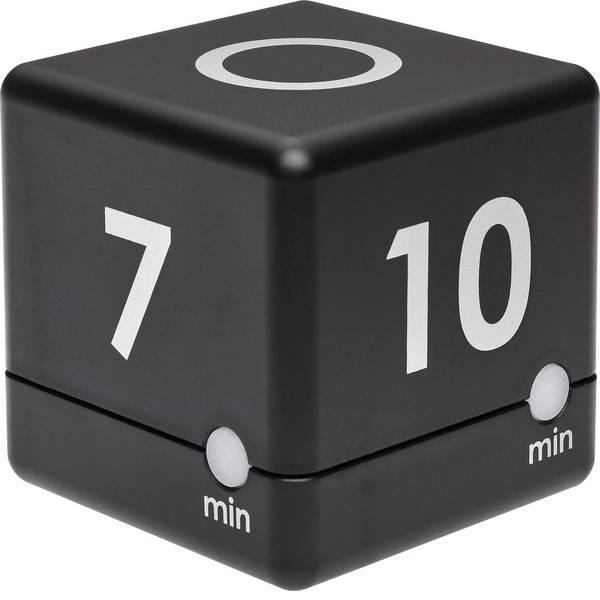 Timer - TFA Timer Cube Timer Nero digitale -